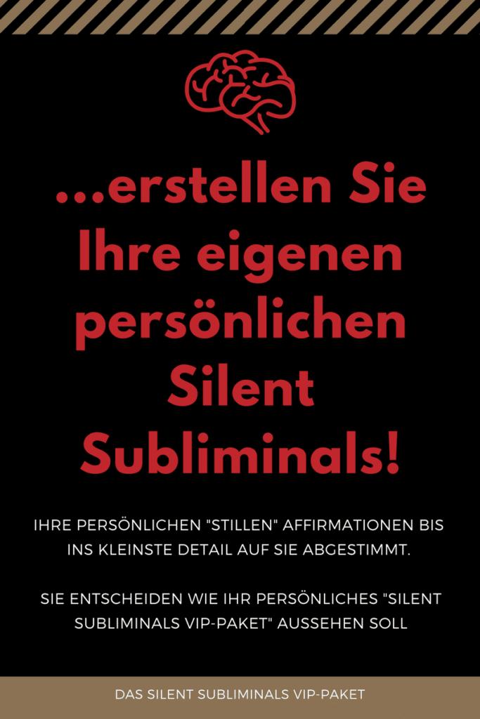 Silent Subliminals VIP Paket