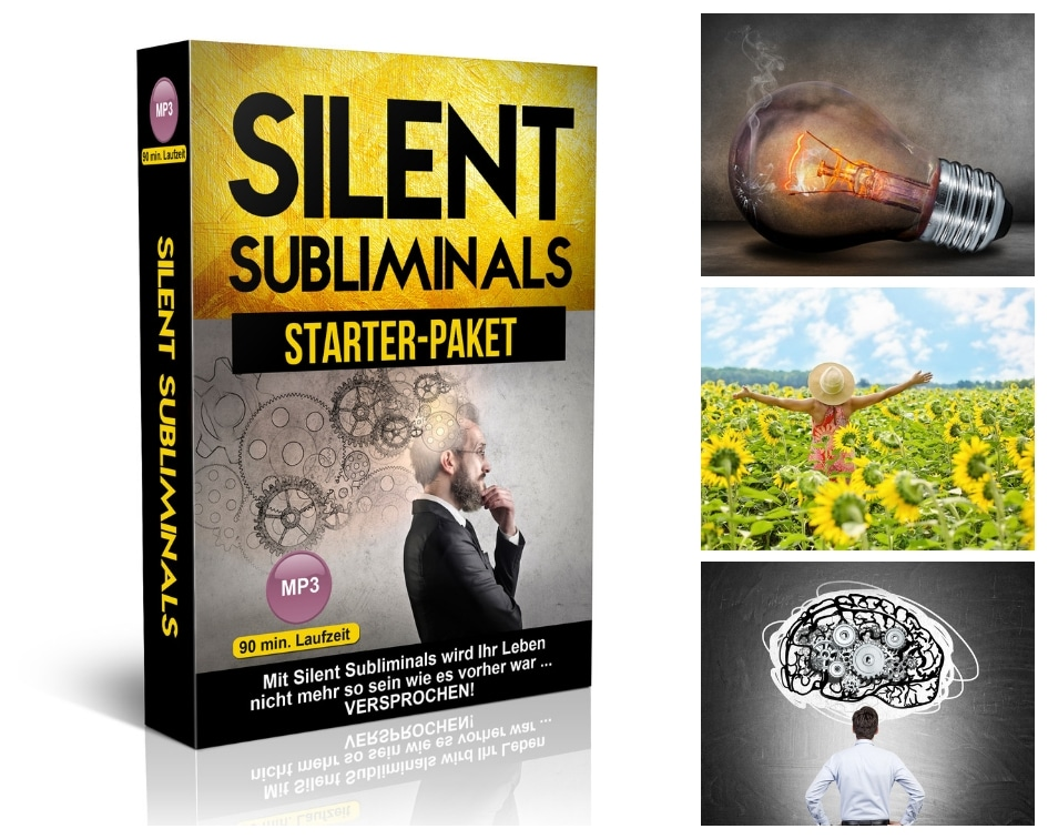 Silent Subliminals Deutsch -Starter-Paket